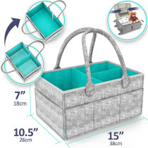 The Most Popular Felt Storage Bag Baby Diaper Caddy