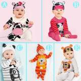 Most Popular 100% Cotton Baby Clothes Soft Stylish Baby Winter Romper Set Baby Romper