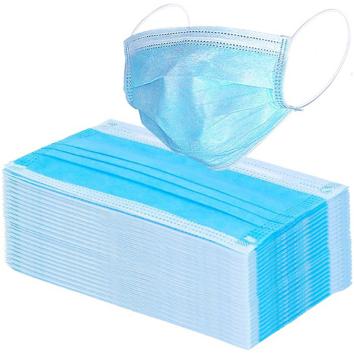 3 ply blue protective masks daily disposable face mask
