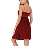 New Lace Women Sexy Sling Dress Home Wear Ladies Lounge Wear