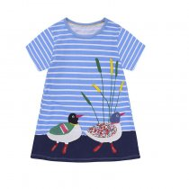 New Style Kids Skirt Summer Cartoon Girls Dress