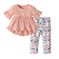 Little Girl Clothing Sets Summer Newborn Baby Clothes