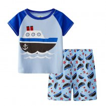 Summer Kids Clothes Children Boy Clothing Set