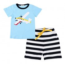 Hot Selling Children Summer Clothes Short Sleeve Kids Clothing Sets
