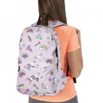New Alpaca School Bag Digital Printing  Girls Backpack