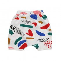 Cheap Price Little Baby Clothes Short Baby Harem Pants