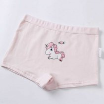 Class A Standard Kids Underwear Cotton Children Boxer Brief Cartoon Girls Panties