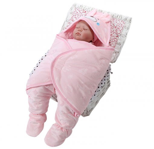 Hot Selling Hooded Baby Swaddle Winter Baby Sleeping Bag