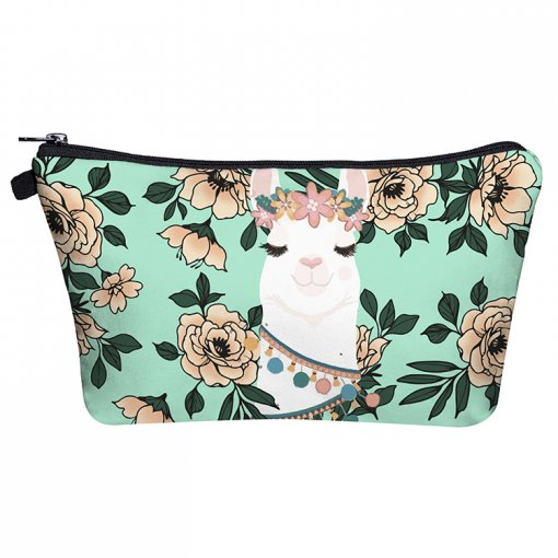 High Quality Polyester Cosmetic Bag Zipper Makeup Bags