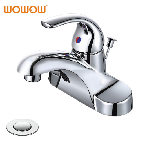 Single Handle Bathroom Faucet 4 Inch Centerset