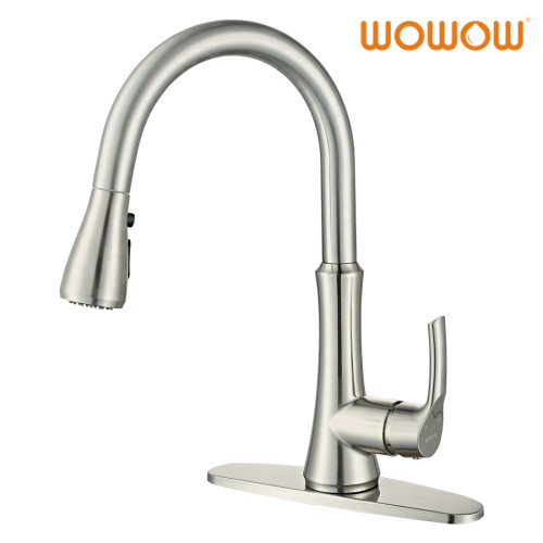 WOWOW Kitchen Tap With Pull Out Spray