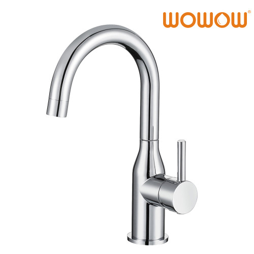 Good Quality Bathroom Faucet High Arc Stainless Steel