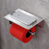 Toilet Paper Holder Without Drilling