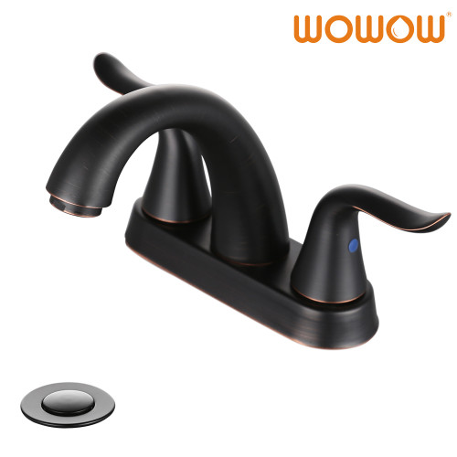 Oil Rubbed Bronze Bathroom Faucet 4 Inch
