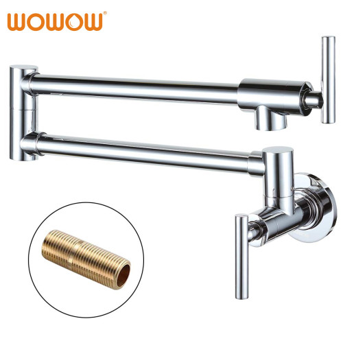 WOWOW Pot Filling Tap Over Stove Chrome