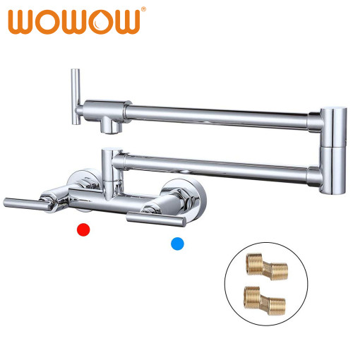Pot Filler Faucet Hot And Cold