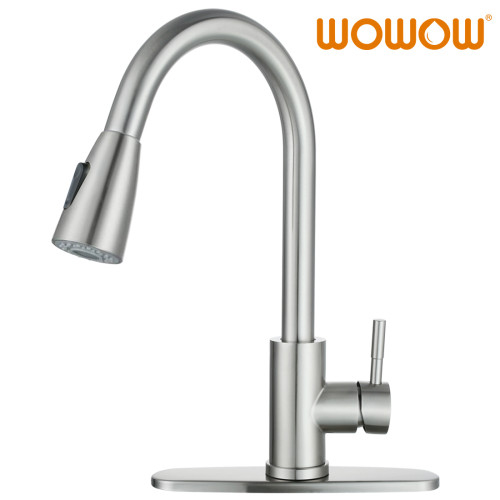 Top Rated Pull Down Kitchen Faucets Single Hole