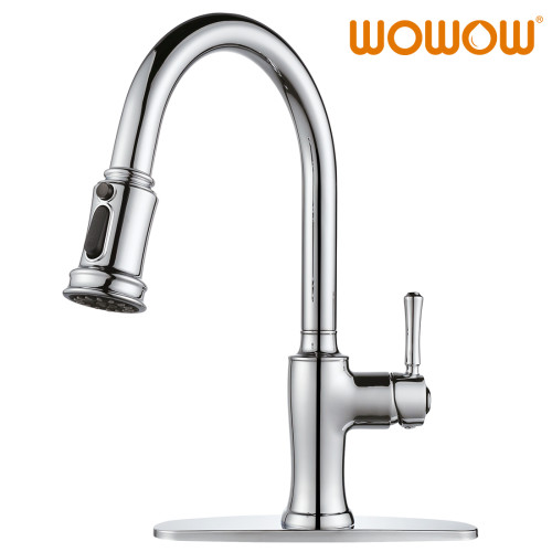 Pull Down Kitchen Mixer Taps Chrome