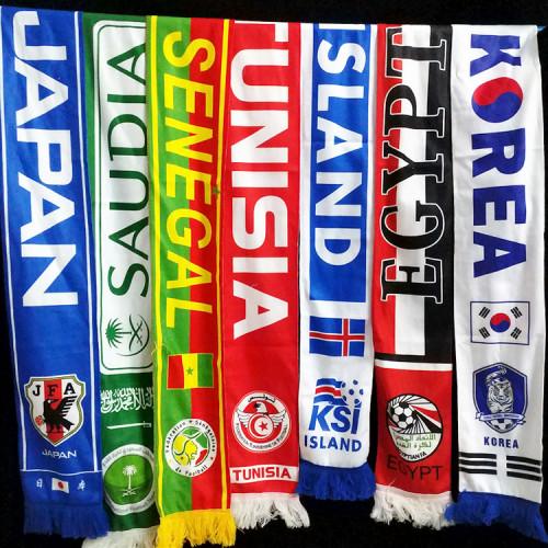 National Team Fans Scarves