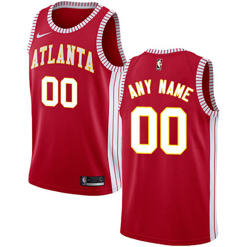 Men's Customized Basketball Club Team Red Jersey - Limited