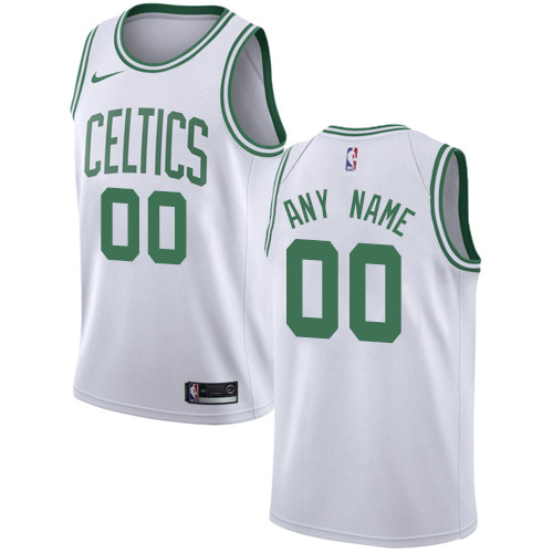 Men's Customized Basketball Club Team White Alternate Jersey - Limited