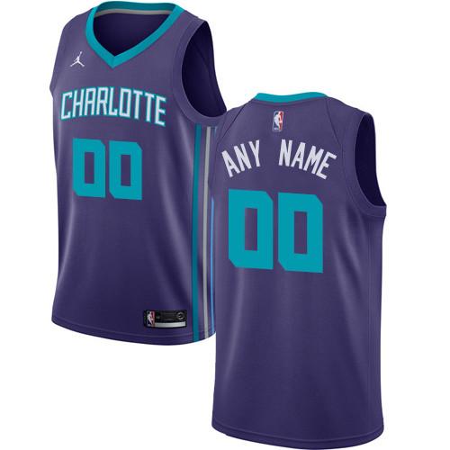 Men's Customized Basketball Club Team Purple Jersey - Limited
