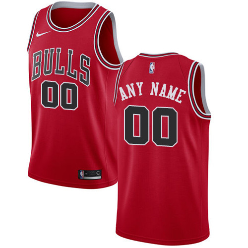 Men's Customized Basketball Club Team Red Road Jersey - Limited