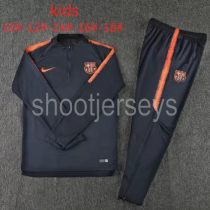 Barcelona 18/19 Kids Training Top and Pants - 004