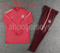 Barcelona 18/19 Kids Training Top and Pants - 005