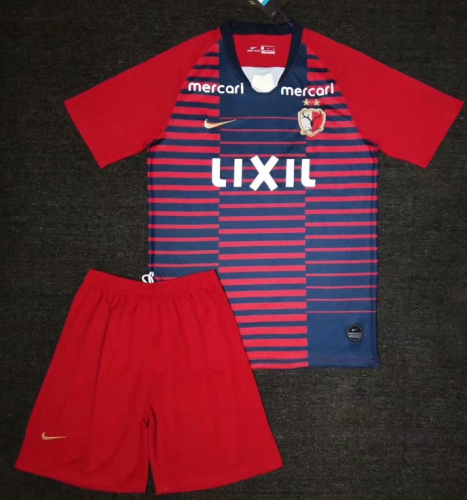 Kashima antlers 19/20 Home Soccer Jersey and Short Kit