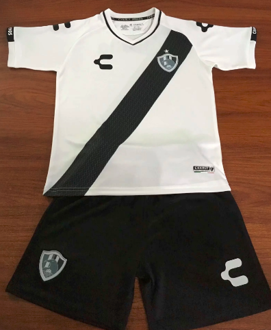 Club de Cuervos 19/20 Home Soccer Jersey and Short Kit