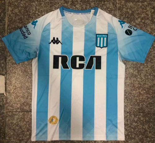 Thai Version Racing Club 19/20 Home Soccer Jersey