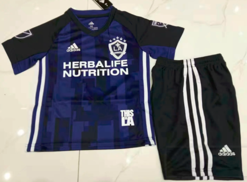 Los Angeles Galaxy 19/20 Kids Away Soccer Jersey and Short Kit