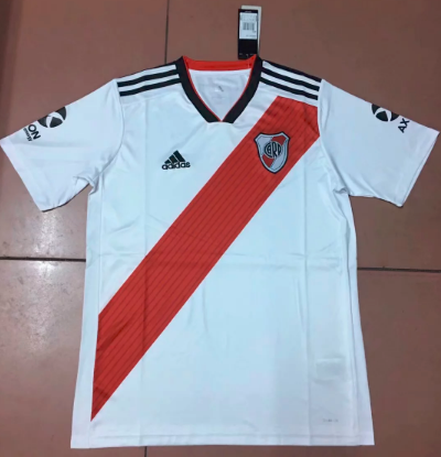 Thai Version River Plate 19/20 Home Soccer Jersey