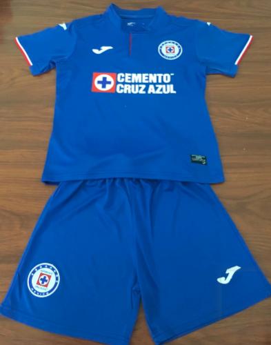 Cruz Azul 19/20 Home Soccer Jersey and Short Kit