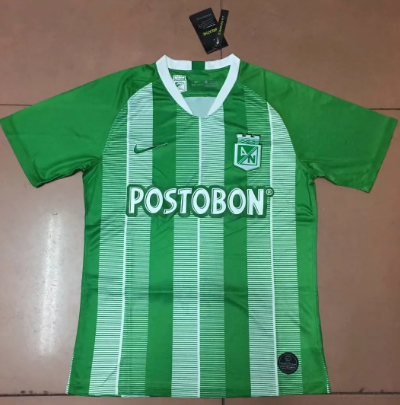 Thai Version Atletico Nacional 19/20 Home Soccer Jersey