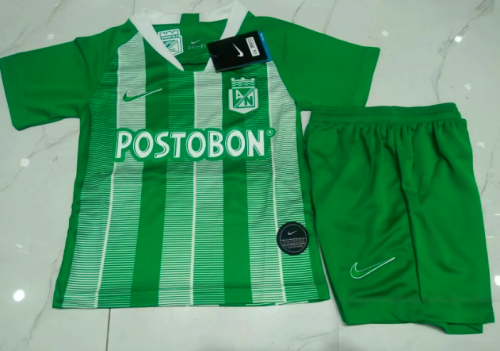 Atletico Nacional 19/20 Kids Home Soccer Jersey and Short Kit