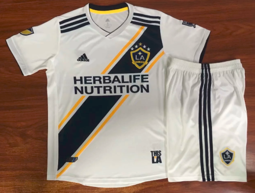 Los Angeles Galaxy 19/20 Kids Home Soccer Jersey and Short Kit
