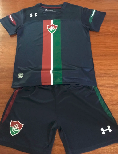 Fluminense 19/20 Kids Third Soccer Jersey and Short Kit