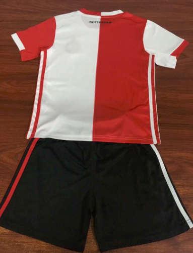 Feyenoord Rotterdam 19/20 Home Soccer Jersey and Short Kit