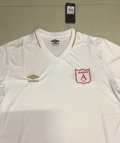 Thai Version América de Cali 19/20 Soccer Jersey - White