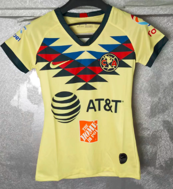 Thai Version Club America 19/20 Women's Home soccer jersey