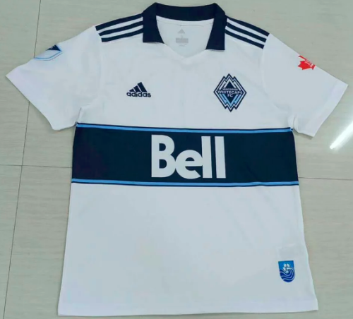 Thai Version Vancouver Whitecaps FC 19/20 Home Soccer Jersey