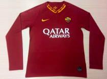 Thai Version AS Roma LS 19/20 Home Soccer Jersey