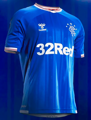 Thai Version Rangers 19/20 Home Soccer Jersey