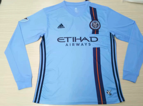 Thai Version New York City 19/20 LS Home Soccer Jersey