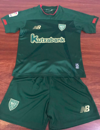 Athletic Bilbao 19/20 Kids Away Soccer Jersey and Short Kit
