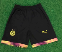 Thai Version Borussia Dortmund 19/20 Goalkeeper Soccer Shorts - 001