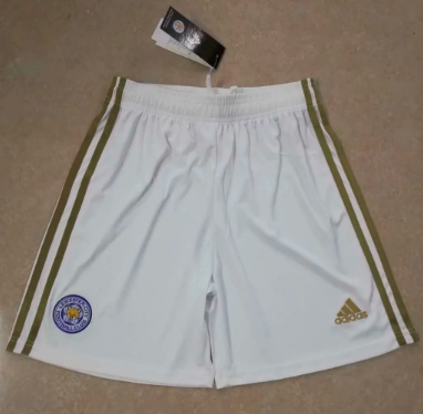 Thai Version LEICESTER CITY 19/20 Home Soccer Shorts