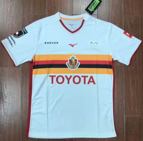 Thai Version Nagoya Grampus 19/20 Soccer Jersey - White